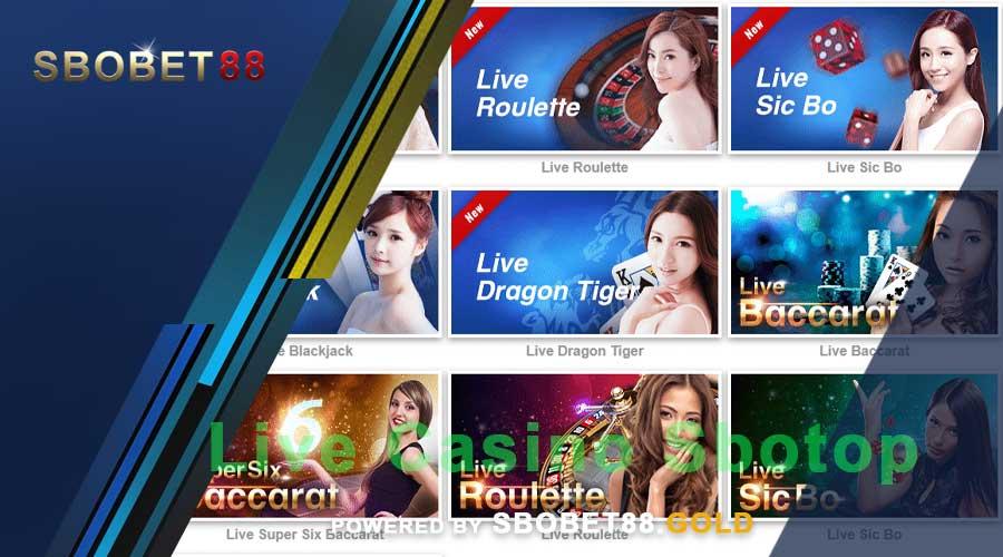 Judi Online Live Casino Bersama Sbotop