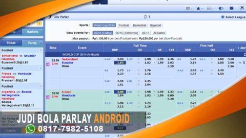 Strategi Menang Judi Bola Parlay Online Android