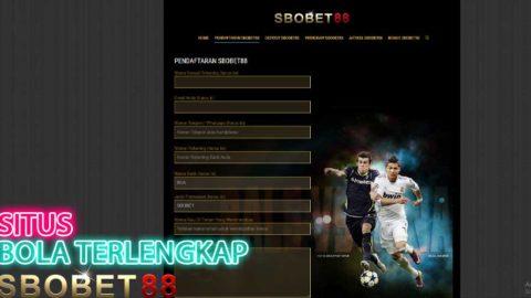 Situs Judi Bola Online Terlengkap Dan Terbaik